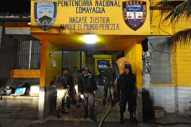 Incendio en cárcel de Honduras1