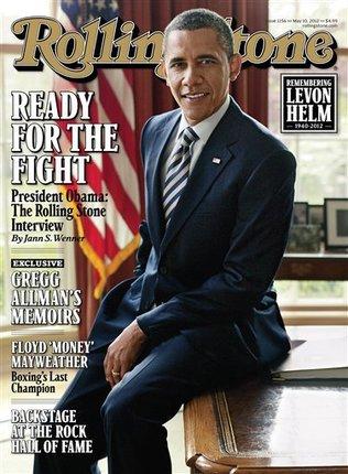 Barack Obama Rolling Stone portada