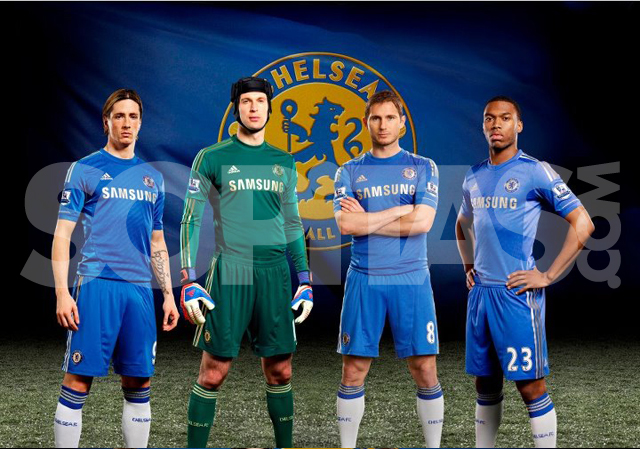 El nuevo uniforme del Chelsea para la temporada 2012/2013