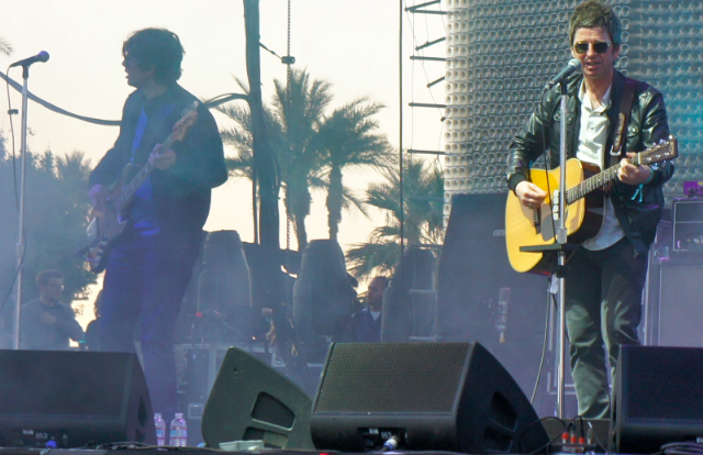 Noel Gallagher's High Flying Birds Coachella 2012