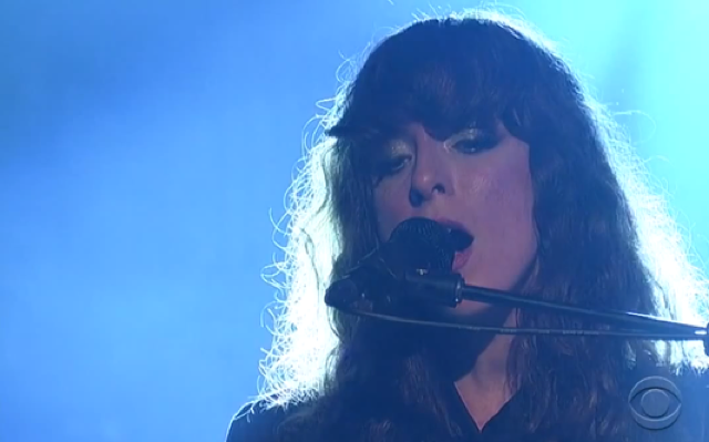 """Beach House Late Show with David Letterman 2012"""