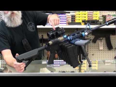 AR-15 reloaded