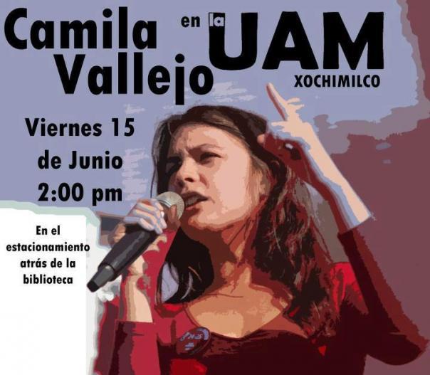 Camila vallejo UAM