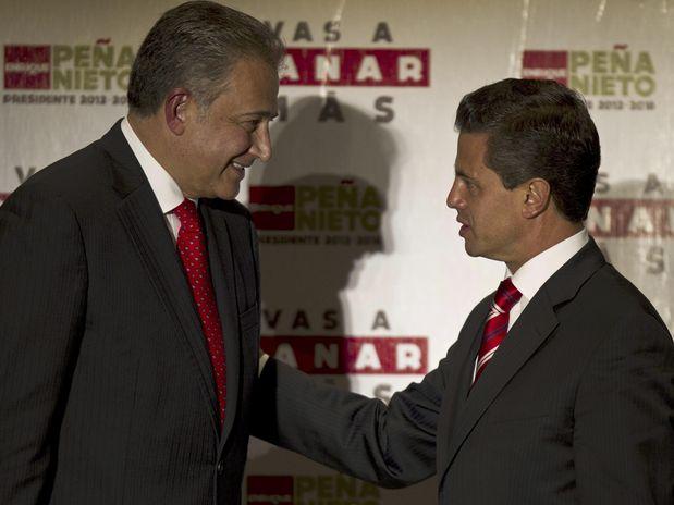 Oscar Naranjo y Peña Nieto