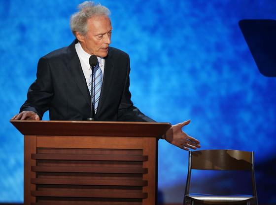 Clint eastwood silla vacia obama