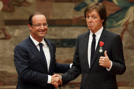 McCartney legion de Honor