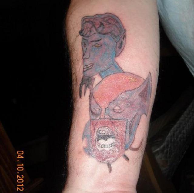 Wolverine tatoo