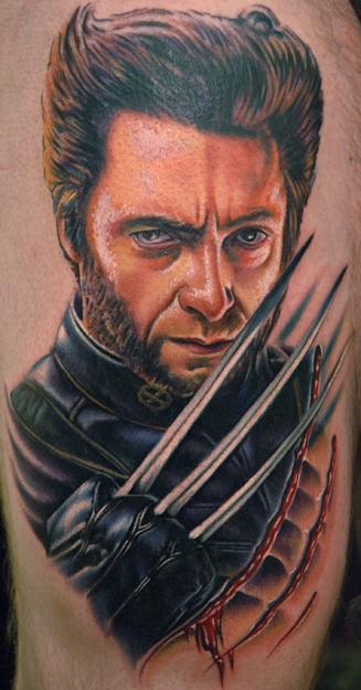 wolverine tatoo 2