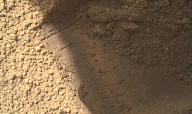 Curiosity - Partículas brillantes