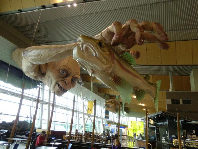 Estatua de Gollum