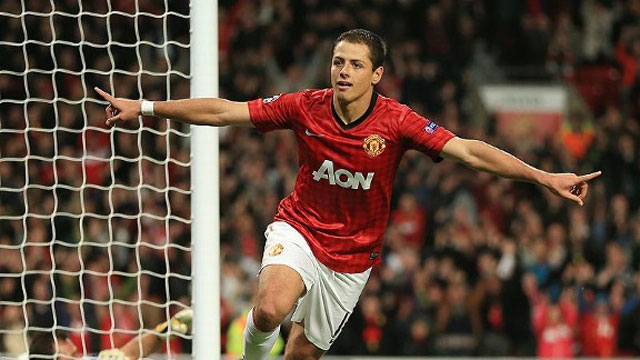 Gol-Chicharito-Manchester-United