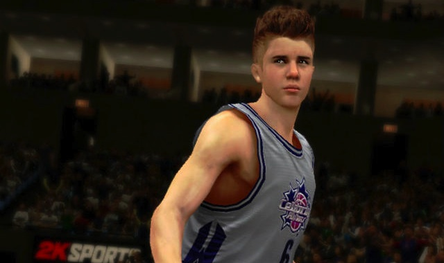 Justin Bieber NBA 2K13