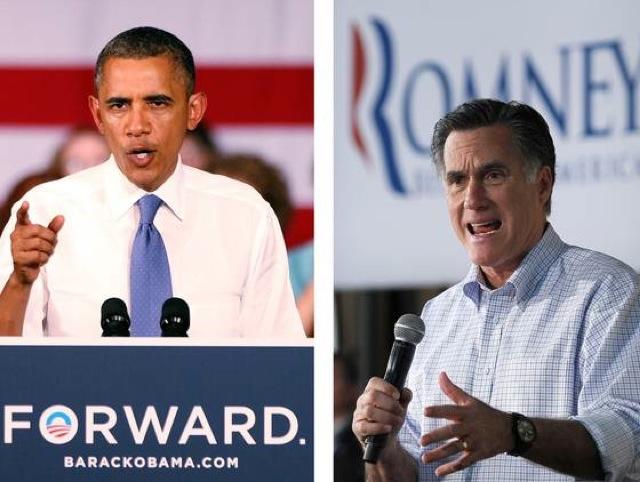 obama y romney