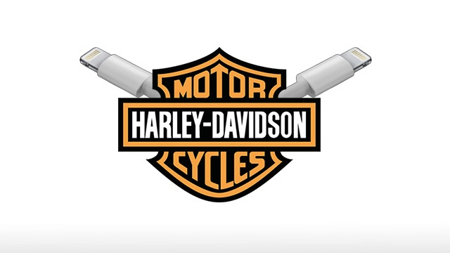 Apple Harley Davidson