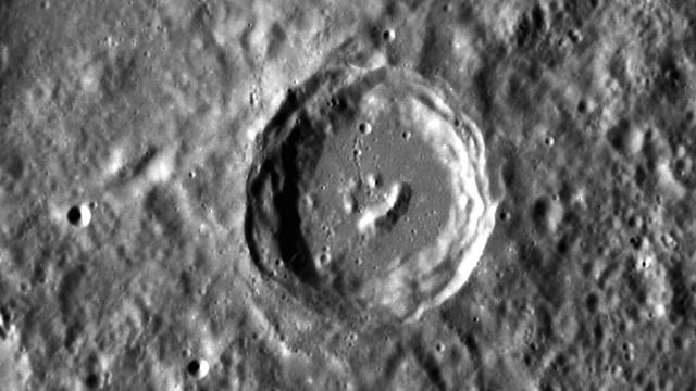 Cráter Mercurio