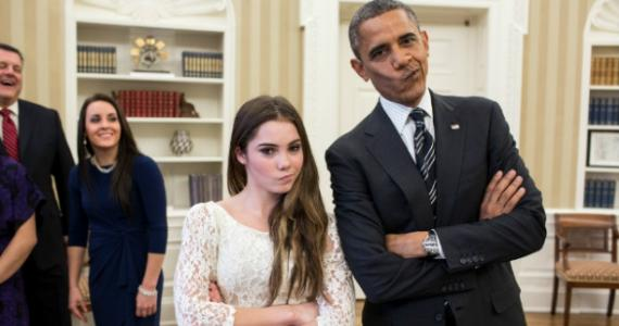 Obama was not impressed