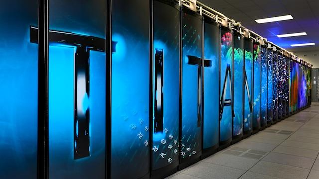 Titan supercomputadora
