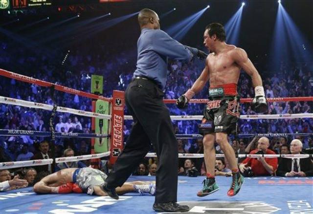 Manny Pacquiao ko de marquez