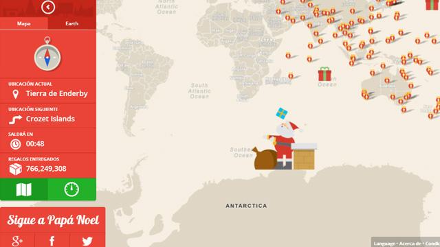 Santa-Claus-en-Google-Maps
