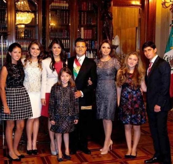 familia presidencial