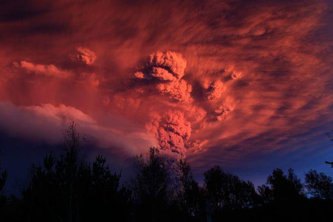 La tierra entrará en una violenta etapa volcánica