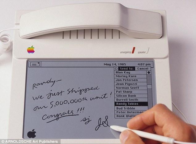 Un teléfono de Apple