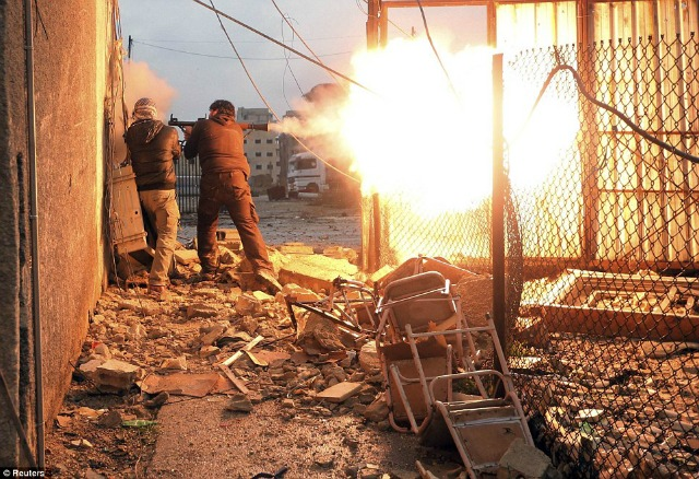 Combate en Damasco