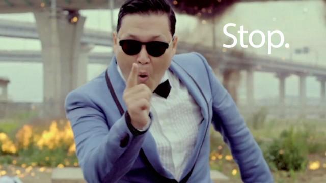 Gangnam Style sobre hielo