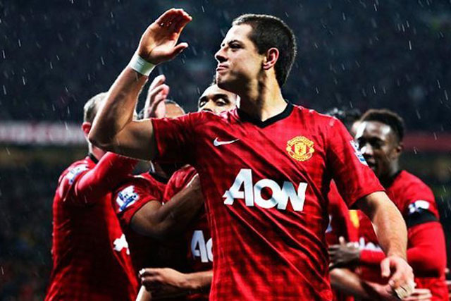 Gol-Chicharito-2013