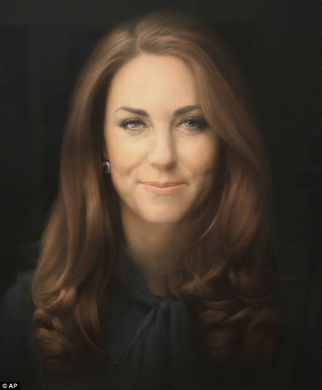 Retrato oficial de Kate Middleton