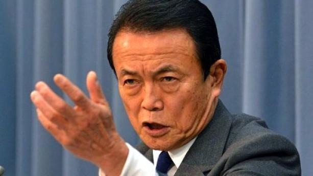 taro aso ministro finanzas japon