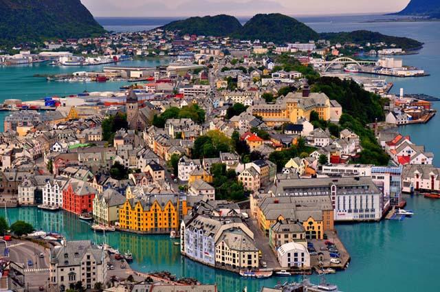 Alesund_en_Noruega