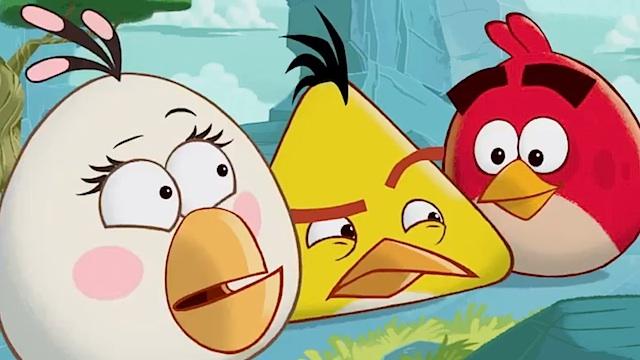 Angry Birds serie animada