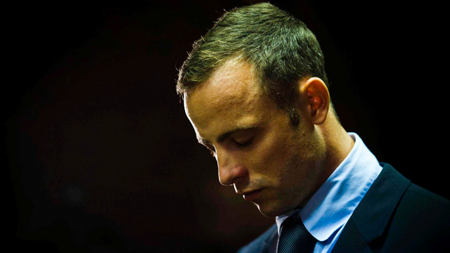 Oscar Pistorius in court at bail hearing
