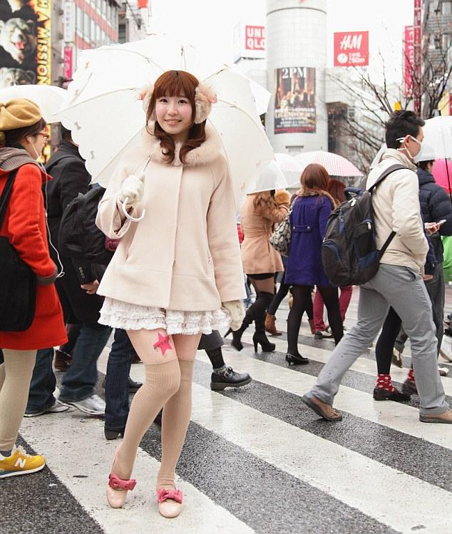 Women's Legs Used For Advertising In Japan