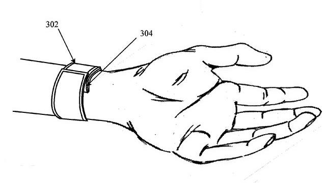 iWatch patente