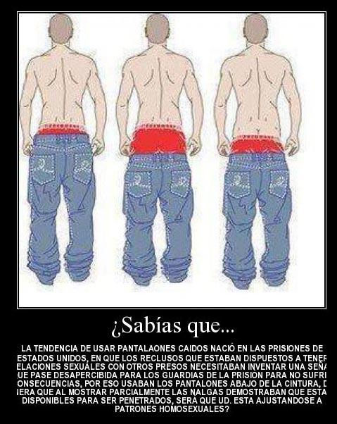 El Verdadero Origen De Los Pantalones Caidos