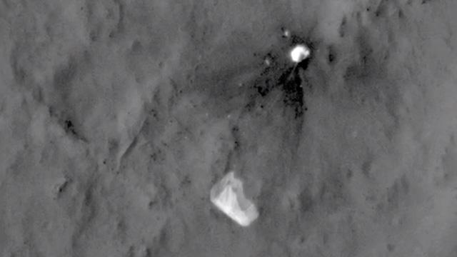 Curiosity-paracaidas