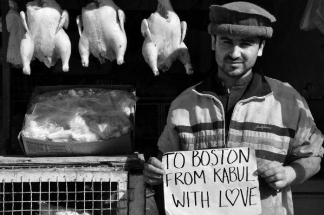 De Kabul para Boston