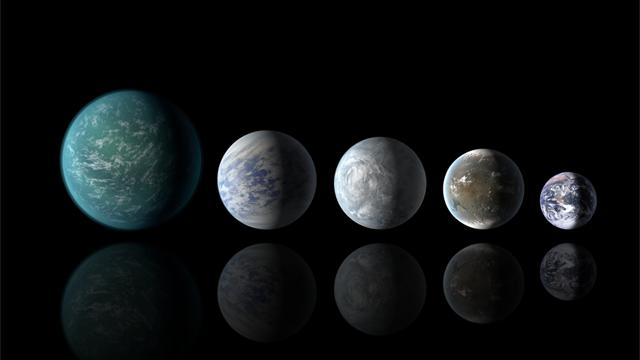 Kepler-planetas