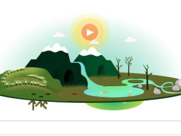doodle dia de la tierra 2013