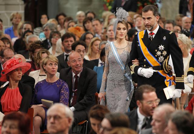 españa principes rey holanada coronacion