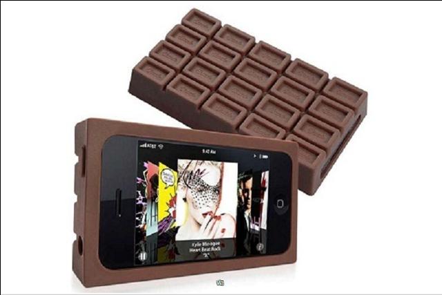 iphone chocolate