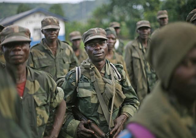 soldado congoleño
