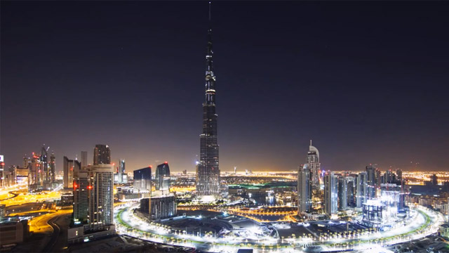 Dubai-timelapse