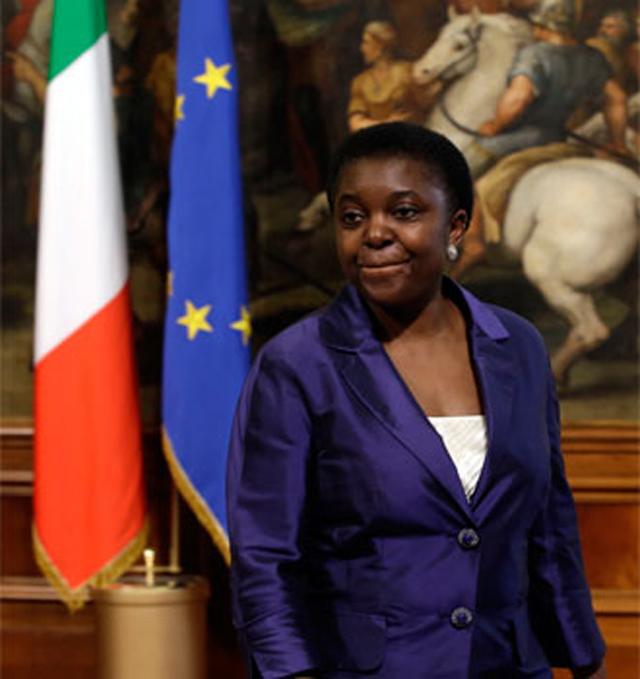 ministra negra racismo italia