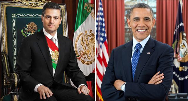 peña obama mexico visita