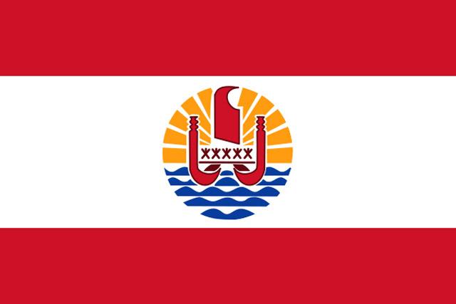 BANDERA-TAHITI