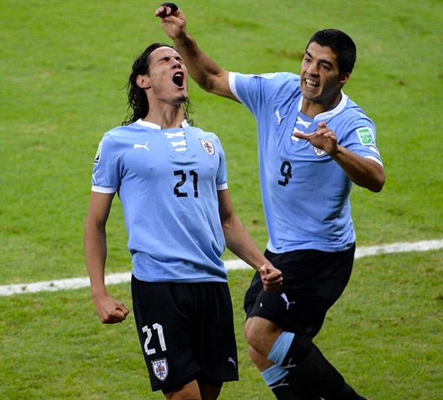 Brasil-vs-Uruguay-Cavani