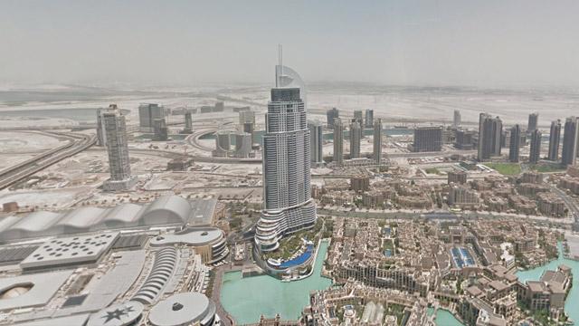 Google-Street-View-en-Burj-Khalifa